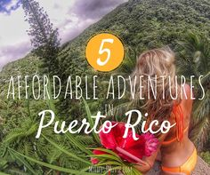Bioluminescent Bays that glow when you swim, rainforest hikes to waterfalls, gorgeous white sandy beaches, do I need to say more about Puerto Rico?