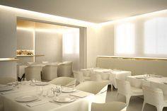 LE COMPTOIR, Hennessy private restaurant by FRST Studio, Cognac France restaurant