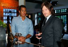 May - Norman attends the Variety Studio powered by Samsung Galaxy at Palihouse in West Hollywood - variety 281229 - The Walking Dead - Photo Gallery Murphy Macmanus, Tom Payne, Ray Ban Men, Fear The Walking Dead, West Hollywood, Hollywood California, Daryl Dixon, Photo L, Norman Reedus