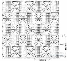 Mis Pasatiempos Amo el Crochet: Patrones de punto araña varias cuadrículas con sus muestras