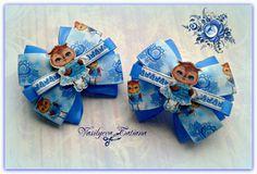Купить Бантики детские Совушка в интернет магазине на Ярмарке Мастеров
