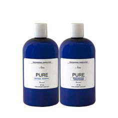 Perfect hair has never been easier. Enjoy Aina's Pure Natural Shampoo & Moisturizing Conditioner set for perfect shine every time.  Additional sizes available @ www.ainaskincare.com