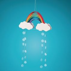 Buy Foam Rainbow Mobiles Craft Kit (Pack of at S&S Worldwide Rainbow Activities, Rainbow Crafts, Craft Activities For Kids, Projects For Kids, Art Projects, Fun Arts And Crafts, Crafts To Make, Crafts For Kids, Mobile Craft