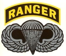 Military Insignia Army, 75th Rangers | ARMY RANGER PARA WINGS DECAL STICKER FREE USA SHIPPING