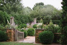 The Rose garden at Waterperry Farm http://www.virginialiving.com/home-garden/art-for-garden%27s-sake/