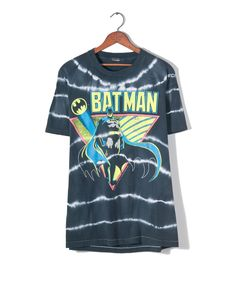 I need this! !! In size HUGE cuz I can see making it into a dress xD- BKLYN Dry Goods Batman Tee. Major hearts