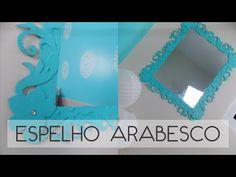 DIY: quadro provençal com espelho de 1,99 - YouTube
