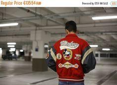 Sale VTG College Jacket MICKEY MOUSE  Walt by BackShopVintage
