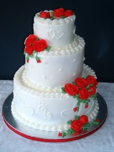 how to make red buttercream uk