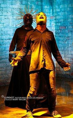 Corey Taylor and Craig Jones of Slipknot