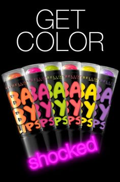 Maybelline Babylips Electro/Color Tattoo Pigments