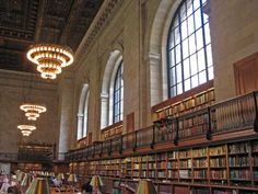 rose reading room: a magnificent space in the new york public library on 5th avenue