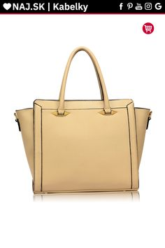 Trendy kabelka do ruky Anastasia béžová AG00516 Trendy, Blues, Tote Bag, Fashion, Moda, Fashion Styles, Totes, Fashion Illustrations, Tote Bags
