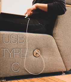 In-chair charging PIP USB type-C charging perfect for iPhones, iPads, Samsung fitted directly into furniture from OE Electrics ltd Bedroom Setup, Bed Back, Wire Management, Soft Seating, Samsung S9, Co Working, Bed Head, Ac Power, Light Table