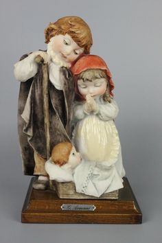 MANUFACTURE: Florence - Giuseppe Armani (Italy) NAME: Children's Nativity NUMBER: - ISSUED: 1982 CONDITION: Perfect. No chips, no cracks. NO BOX. HEIGHT: 8 inch / 20 cm WIDTH: 5 inch / 12 cm DEEP: 4 1