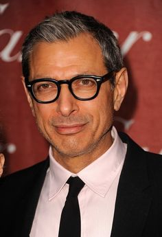 Jeff Goldblum | The Official Ranking Of The 50 Hottest Jewish Men In Hollywood //// Dat nose! Seriously, one of the handsomest noses out there...
