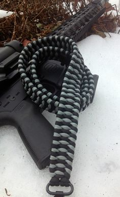 Paracord Rifle Sling by FlipsTactical550Gear on Etsy