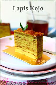 Lapis Kojo, kue khas Palembang #Indonesia