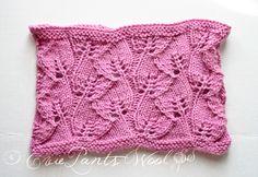 Take it or Leaf it Cowl (free pattern) on Rowan Baby Alpaca DK