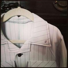 Monogrammed custom boys shirt from Remember When CC