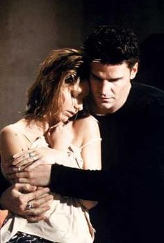 buffy and angel. watching them as a young girl totally shaped my views on true love.