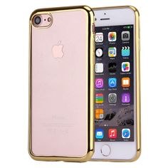 [$1.25] For iPhone 7 Electroplating TPU Protective Back Cover Case, Small…