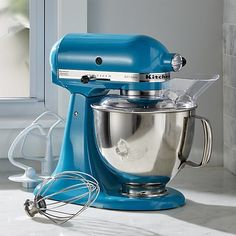 Blue Mixer Kitchenaid Artisan Stand Mixer Kitchen Aid