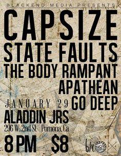 Go Deep, Capsize, Apathean - Pomona 2014