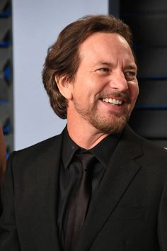 Eddie Vedder attends the 2018 Vanity Fair Oscar Party hosted by Radhika Jones at Wallis Annenberg Center for the Performing Arts on March 4 2018 in...