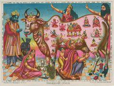 Kamadhenu - The Wish Fulfilling Divine Cow