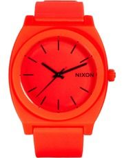 Nixon Orange Silicone Strap Watch @asos - love it! #candycolors