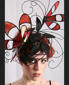 GUIBERT Millinery, ARTE Collection  http://www.guibertmillinery.com