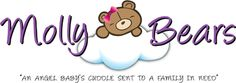 Molly Bears create weighted teddy bears for families coping with any form of infant loss Losing A Baby, Losing A Child, Infant Loss Awareness, Bear Signs, Incredible Gifts, Amazing, Pregnancy And Infant Loss, Child Loss, Precious Children