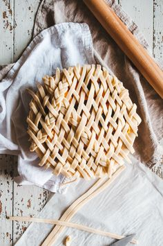 peach blackberry pie
