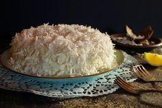 Marmolada: Lemon  Coconut Cake - Ciasto kokosowo cytrynowe