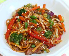 Recipes For Divine Living: Korean Noodles