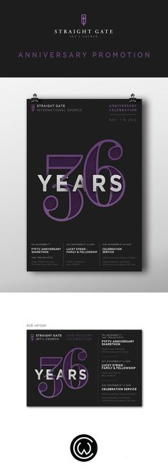 Straight Gate Anniversary Promotion on Behance