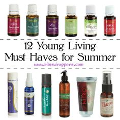 Young Living Summer must haves