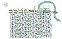 закрытие петель иглой в резинке 1х1_3