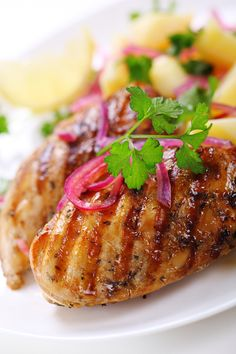 Honey Mustard Chicken - added cayenne pepper and paprika to recipe