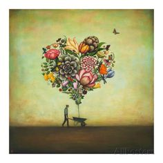 Big Heart Botany Poster by Duy Huynh at AllPosters.com