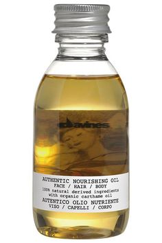 Great for your hair, face, and body, this product contains carthame, jojoba, sesame, and sunflower oil.