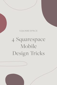 Mobile Design Tricks for your Business' Squarespace Website | Squarespace Design, Squarespace Tips, Website Design, Website Design Tips, Web Design Inspiration, Squarespace Website Design, Squarespace Portfolio, Squarespace for Beginners, Squarespace How To, Brine, Business Website, Squarespace Hacks, #squarespace #webdesign #designer #squarespacetutorial #squarespacetips