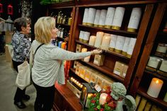 Flameless candles: I can't wait to see products like this at An Affair of the Heart of Tulsa.