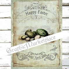 Easter Eggs Large Image Instant