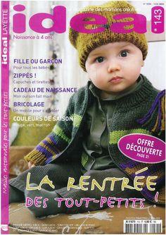 Photo : Knitting Books, Crochet Books, Knit Crochet, Crochet Hats, Knitting Magazine, Crochet Magazine, Baby Knitting Patterns, Baby Patterns, Pattern Books