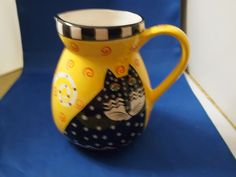 Laurel Burch Water Jug Cat Cats Design Studio | eBay