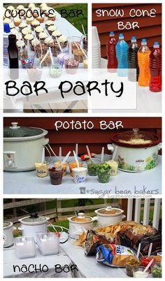 Sugar Bean Bakers: {Bar Party}