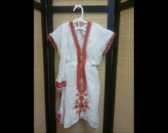 Ethiopian Dress Young Girl H20 by CCIWorld on Etsy, $45.00