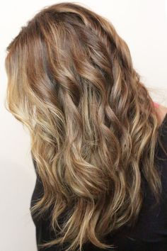 ash and chestnut mixed tones with hair extensions by dkwstyling.com